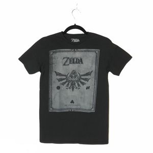 The Legend of Zelda Men's Tshirt Black Size S